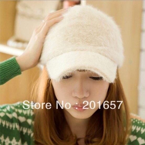 Mote baseball cap snapback hatter kanin pels kvinner baseball cap for - Klær tilbehør