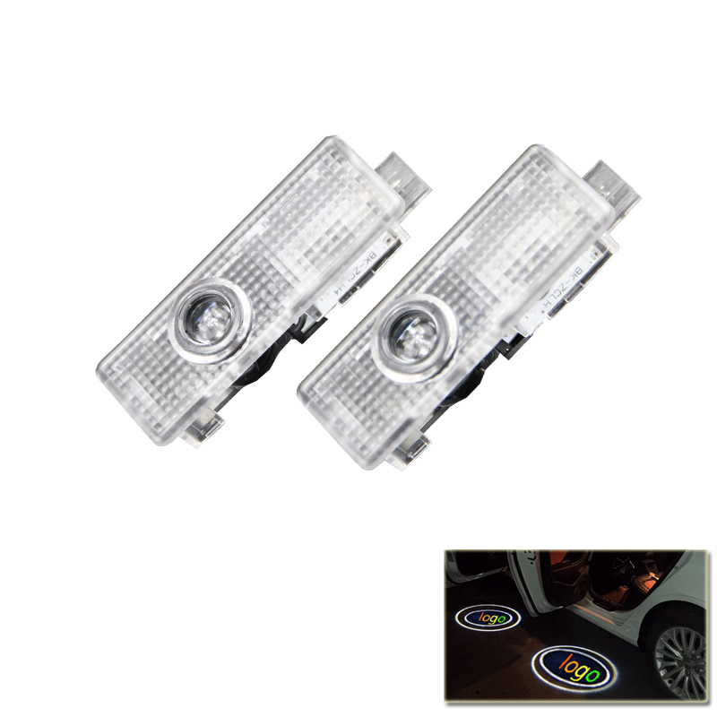 Set Led Car Door Welcome Courtesy Laser Emblem Logo Shadow Lights For BMW E60 E63 E90 E92 E93 X1 X3 X5 X6 3 5 6 7 Z GT Series