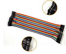 5PCSDupont line 40pcs 20cm male to male jumper wire Dupont cable For arduino