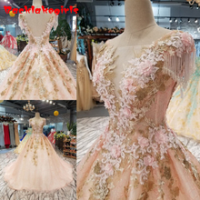 b3ccdd27f8096 Buy pink gown engagement and get free shipping on AliExpress.com