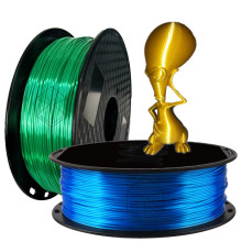 3D Printing PLA Filament 1.75mm Silk Gold Feeling Material Metal Bronze Silky Shiny for Printer Pen