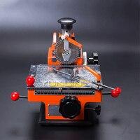 Máquina semiautomática pequena da imprensa da máquina de escrever da placa de identificação do signage máquina da marcação 5mm palavra máquina de carimbo do metal da roda