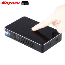 Noyazu 1500 lúmenes Proyector Portátil de Mano Mini Pocket Proyector DLP Wifi Smartphone Android Bluetooth Beamer