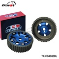 PIVOT - Blox Adjustable Cam Gears Timing Gear pulley kit For Mitsubishi 4G93 DOHC Engine TK-CG4G93BL