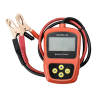 Best Lansl Professional Motor Capacitor Tester Analyzer MICRO 30 Portable LED Digital Battery Tester Charging System Analyzer