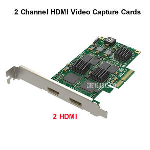 Video-Capture-Cards HDMI Audio for 60fps 2-Channel Pcie-2.0 Bulid-In