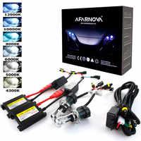 Xenon H7 35W AC 55W Slim Ballast kit HID Xenon Headlight bulb 12V H1 H3 H11 h7 xenon hid kit 4300k 6000k Replace Halogen Lamp
