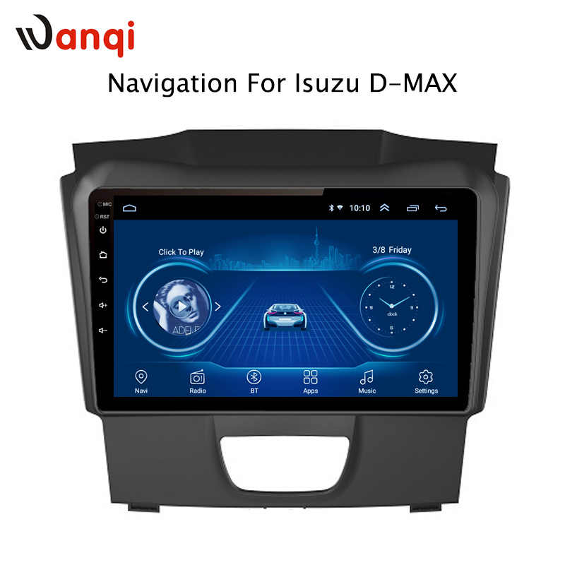 Auto Radio Voor Isuzu D-MAX DMAX 2015-2018 Android 8.1 HD 9 inch Touch screen GPS Navigatie Multimedia Player