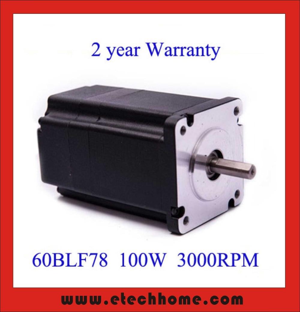 60 Mm Brushless Dc Motor 48v 100w 3000rpm In Dc Motor From
