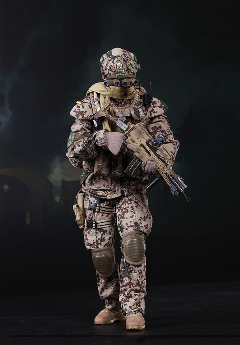 1/6 Scale Germany KSK Special Action Team in Afghanistan Action Figure 73009 full set