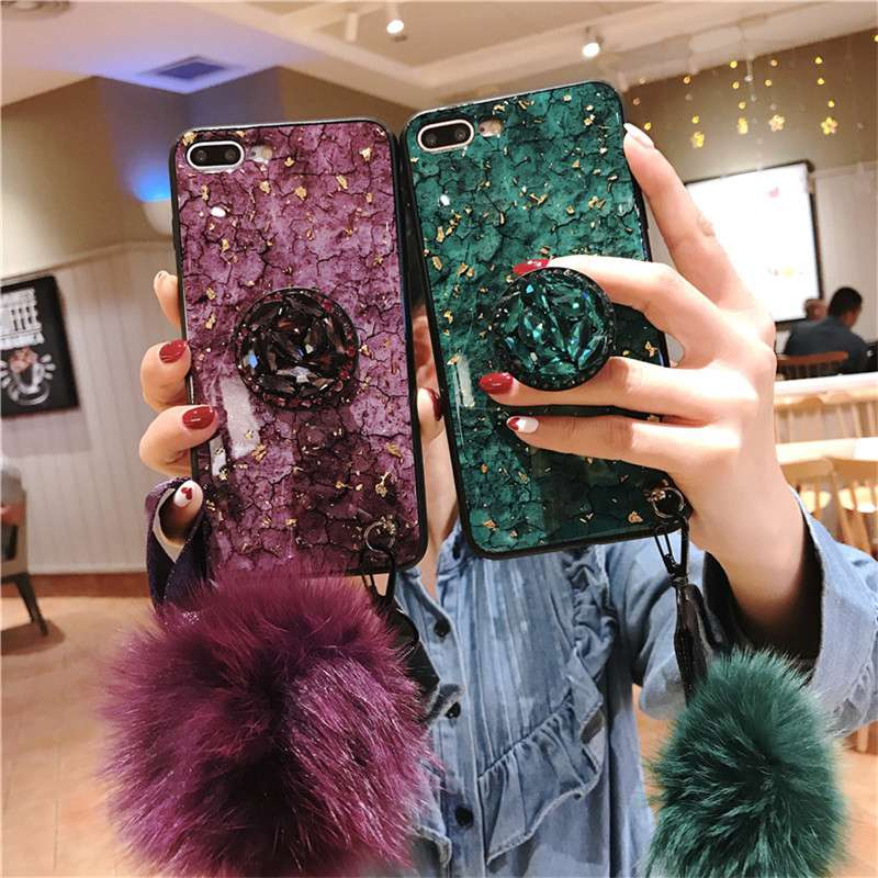 Girly Fashion Case For Iphone 8 6 7 Plus Case Soft Cover Elegant Phone Cases For Iphone X XR XS Max Case Luxury Bling Cover Capa