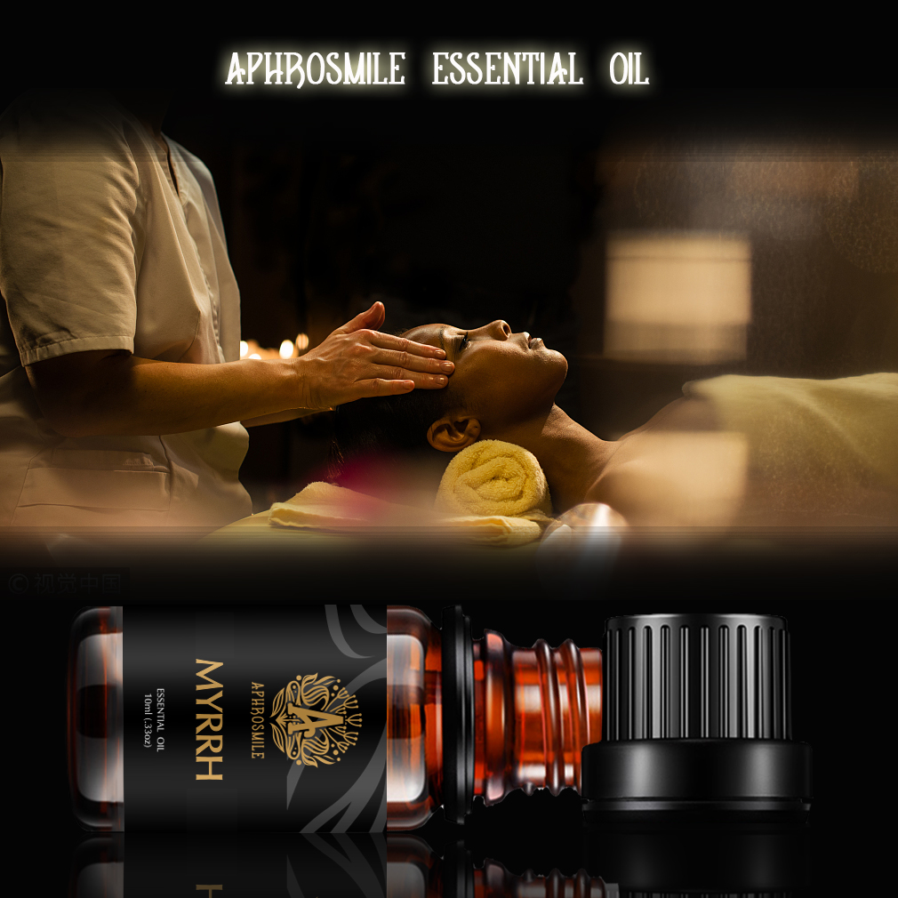 Refreshing Myrrh Essential Oil 10ml Anti-wrinkle Skin Care Myrrh Oil Plant Aromatherapy Oil Anti-inflammatory Sterilization