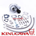 Kinugawa Ball Bearing Billet Turbocharger GTX2863R AR.64 Bolt On T25 for Nissan Silvia S13