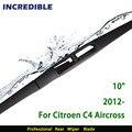 """Lâmina de Limpador traseiro para Citroen C4 Aircross (a partir de 2012 em diante) 10 """"RB650"""