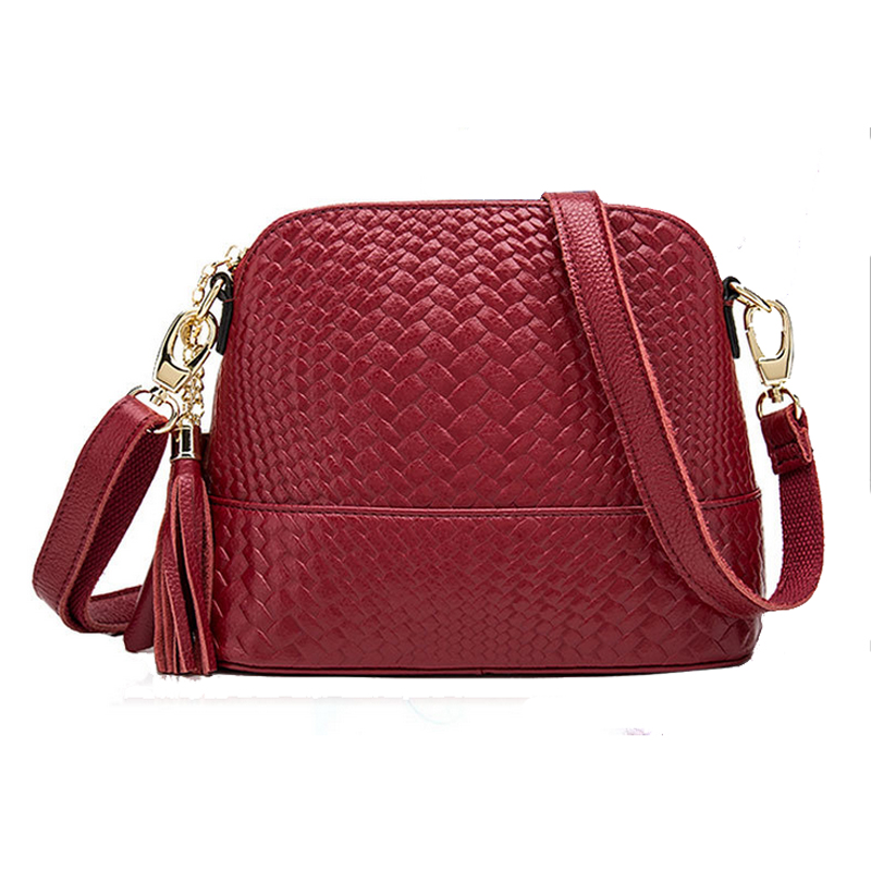 ФОТО NEW arrival high quality shell shape Women Handbag single-Shoulder messenger Bag real cowhide Leather Crossbody Small Lady Bags