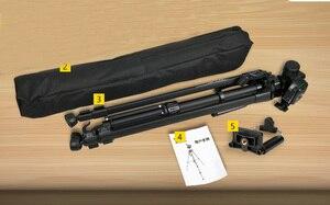Image 4 - Trípode de foto soporte para cámara videocámara WF 3520 trípode negro tripe extensor para foto con mango bolsa de cabeza soporte de teléfono