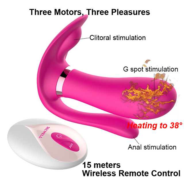 Remote controlled dildo