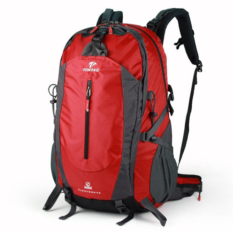 Grande capacité 40/45/50L Étanche sac à dos En Nylon épaule sac Ultra-léger voyage sac à dos fermeture à glissière