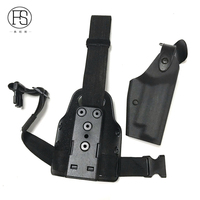 Tactical Gun Accessories Gun Holster Sig P226 Pistol Military Leg Holster Hunting Gun Thigh Holster Black Color