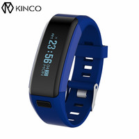 KINCO Bluetooth Heart Rate Detection Pedometer Bracelet Exercise Step Calorie Sleep Monitor Call Alert Smart Wristband