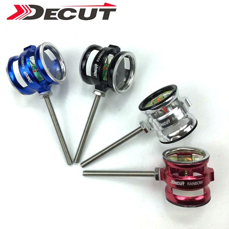 DECUT RAINBOW Aiming Point Aluminum Bow Sight Head Composite Aim Point with Optical Lense 4 6