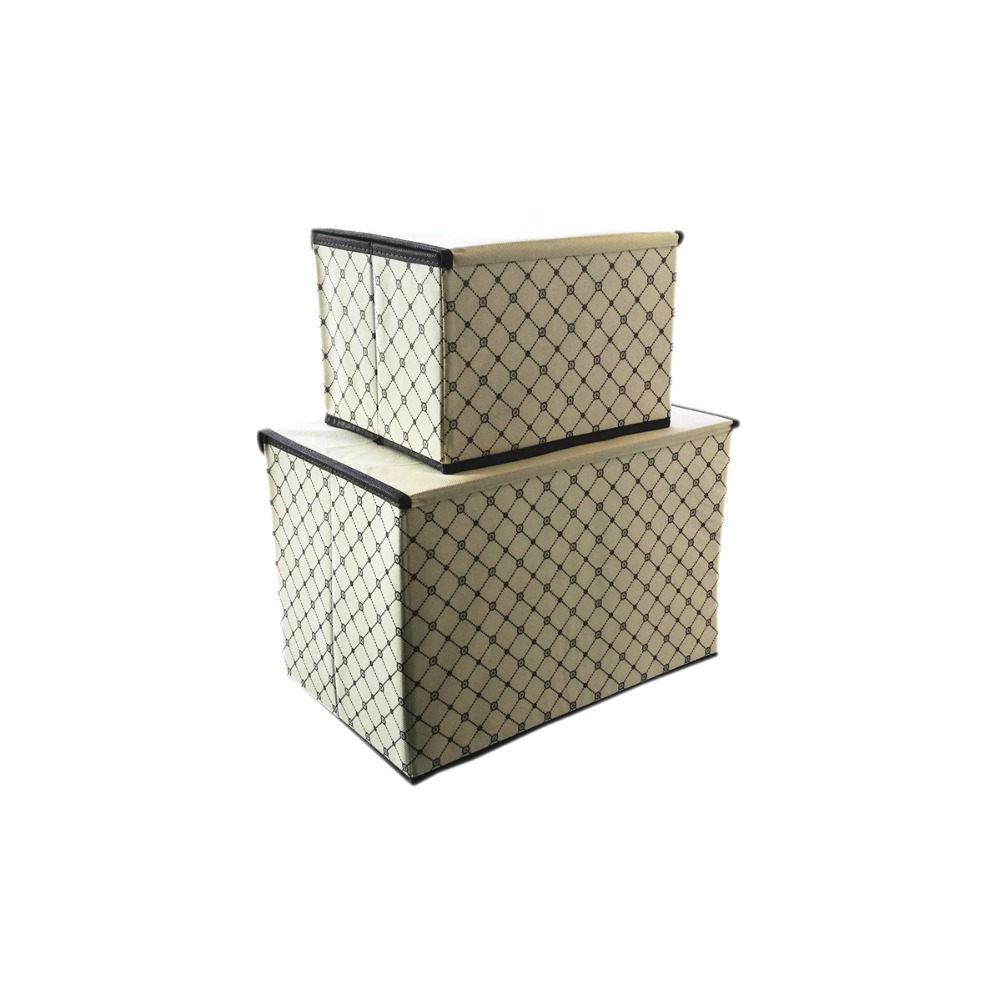 Aliexpress.com : Buy New Foldable Non Woven Fabric Storage Box Clothes  Organizer Underwear Socks Bra Books Toys Storage Bins Cosmetics Case 2 Size  From ...