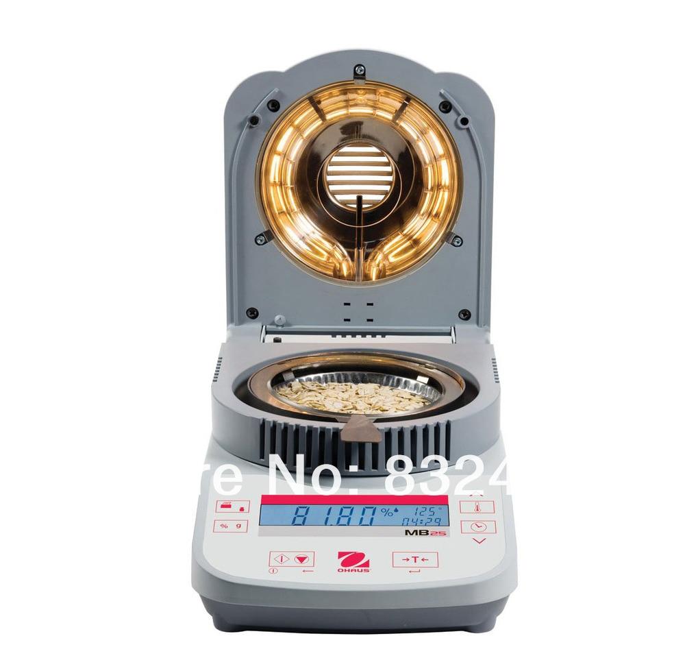 NEW&ORIGINAL Ohaus Moisture Analyzer MB23 110g mc 7806 digital moisture analyzer price with pin type cotton paper building tobacco moisture meter