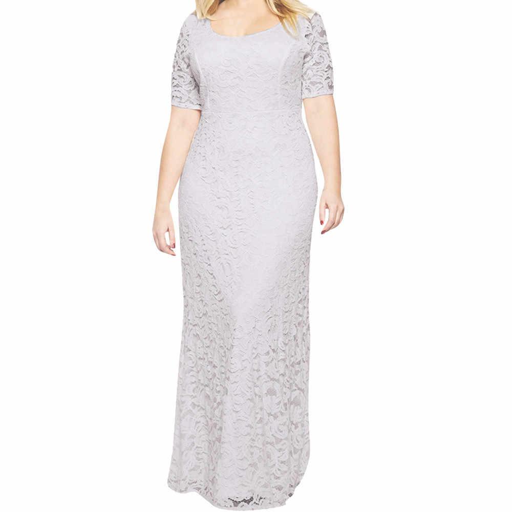 ... 6XL 7XL 8XL 9XL Elegant Maxi Dresses for Lady Large Size Slim Dress  Short-sleeved ... bf39f9062cce