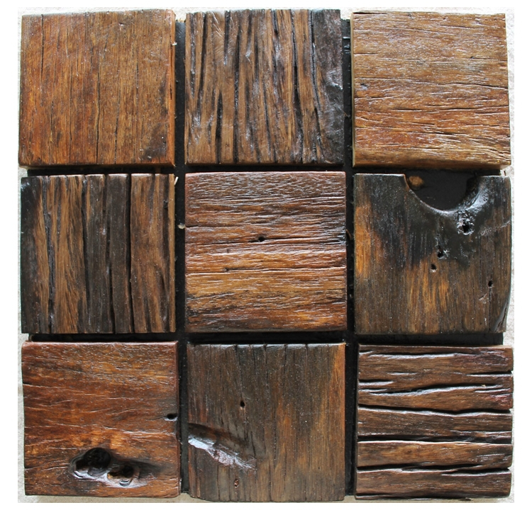 Compra baldosa de madera de textura online al por mayor de for Azulejos rusticos