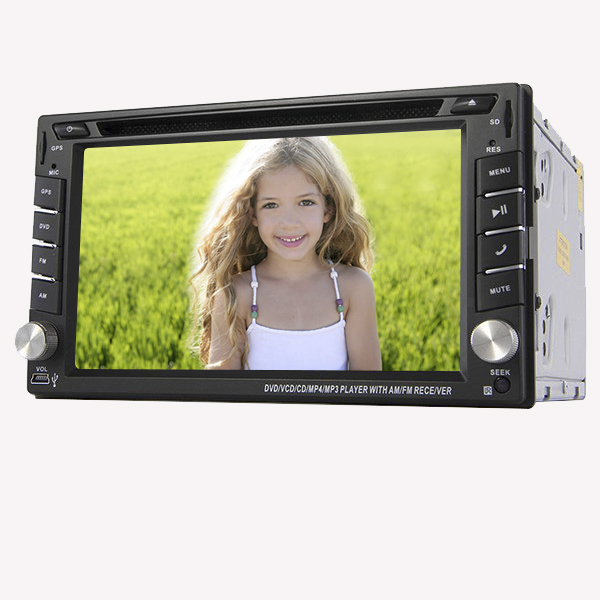 Hot Sale Unversial 2DIN 6.2'' HD Win UI INdashCar DVD with GPS navigation Bluetooth FM/AM Radio Car unit Stereo player