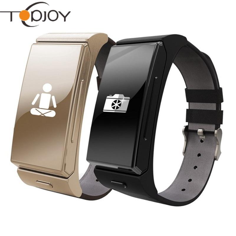 Topjoy T2 Fitness Heart Rate Monitor Bluetooth Smart Watch for IOS Android Xiaomi Samsung Smart Phone PK GT08 DZ09 Smart Watch zaoyiexport bluetooth f69 smart watch ip68 fitness tracker heart rate monitor smartwatch for iphone xiaomi android pk gt08 dz09