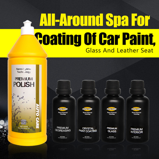9H Paint Coat Car Wax Nano Ceramic Glass Coating Super Hydrophobic Scratch Repair Polishing&Grinding Kit Car Care Paint Polish Воск