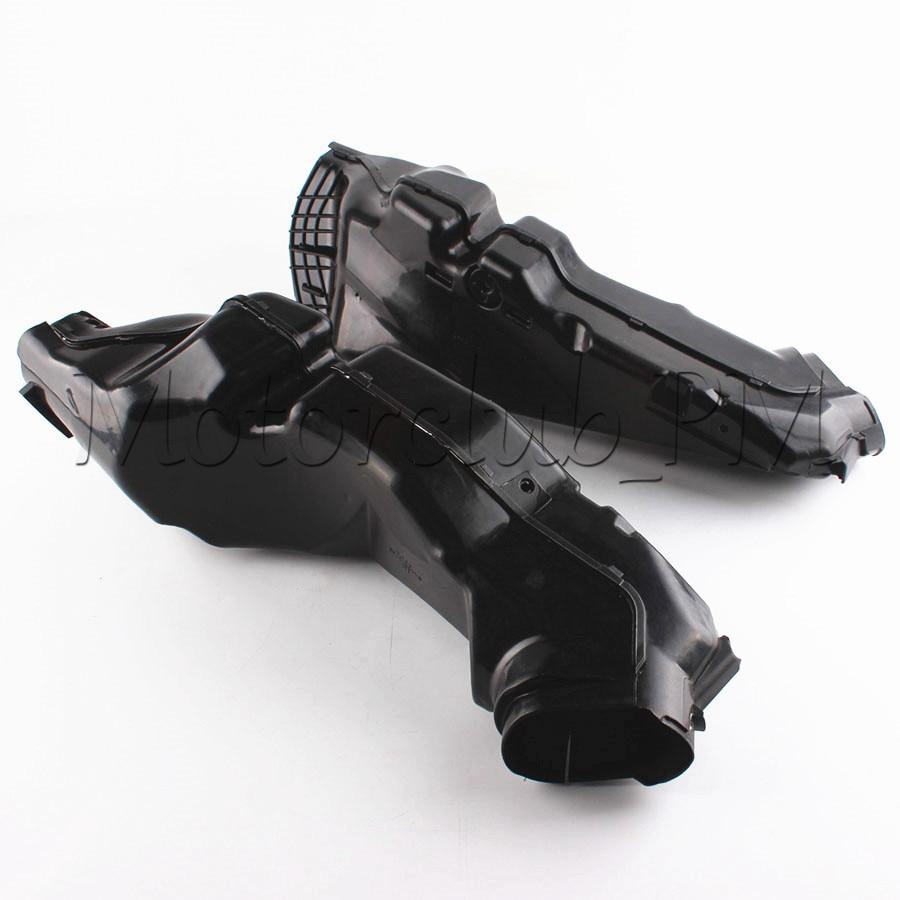 Мотоцикл ОЗУ забора воздуха трубка трубопровода для Suzuki GSXR600 GSXR750 k11 с 2011 2012 ABS пластик черный