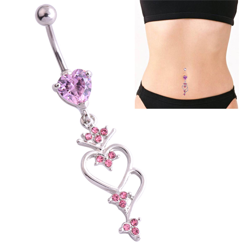 424a3cabfdea6 top 10 heart belly ring star body piercing list and get free ...