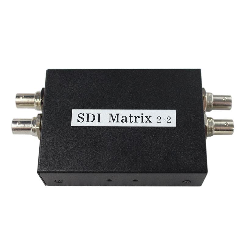 SDI Matrix 2 x 2 Converter 3G SD HD - SDI Switcher Splitter Up to 1080p for TV MonitorSDI Matrix 2 x 2 Converter 3G SD HD - SDI Switcher Splitter Up to 1080p for TV Monitor