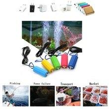 Portable Mini USB Aquarium Fish Tank Oxygen Air Pump Mute Energy Saving Supplies Aquatic Terrarium Filter Fish Tank Accessories