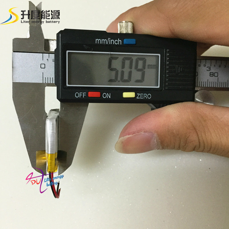 SD 502323 small high performance rechargeable 3.7v li polymer battery <font><b>502525</b></font> 150mah image