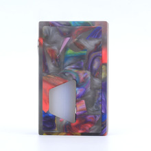 Coil Father Resin Squonker Box Mod Bottom Feed For 510 Thread Electronic Cigarette Mechanical Mods(China)
