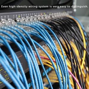 Image 4 - SAMZHE Cat6A Ultrafine Ethernet Patch Cable Sottile RJ45 Del Computer,PS2,PS3,XBox 360 di Rete LAN Fili Dd Lacci 0.5m 1m 1.5m 2m 3m 5m 8m 10m