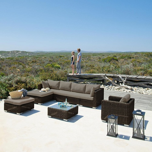 New Arrival Poly Round Rattan Royal B M Garden Ridge Outdoor Furniture