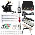 ITATOO Tattoo Kit Cheap Tattoo Machine Set a Pen Kit Tattooing Ink Machine Gun Supplies For Jewelry Weapon Professional TK108001