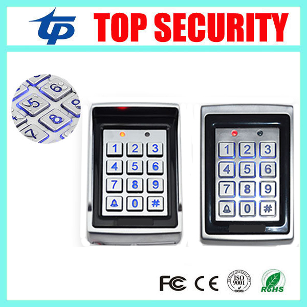 5pcs a lot DHL free shipping standalone RFID card access control system face waterproof door metal access controller