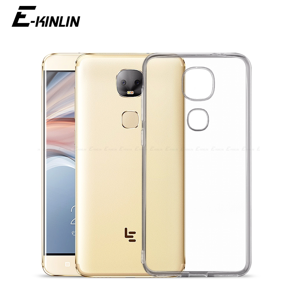 Ultra font b Slim b font Clear Silicone Case For Letv LeEco Le Cool1 Dual Max