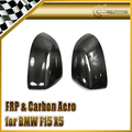 New Car Styling For BMW 2014 F15 X5 Carbon Fiber Side Mirror Cover 2pcs