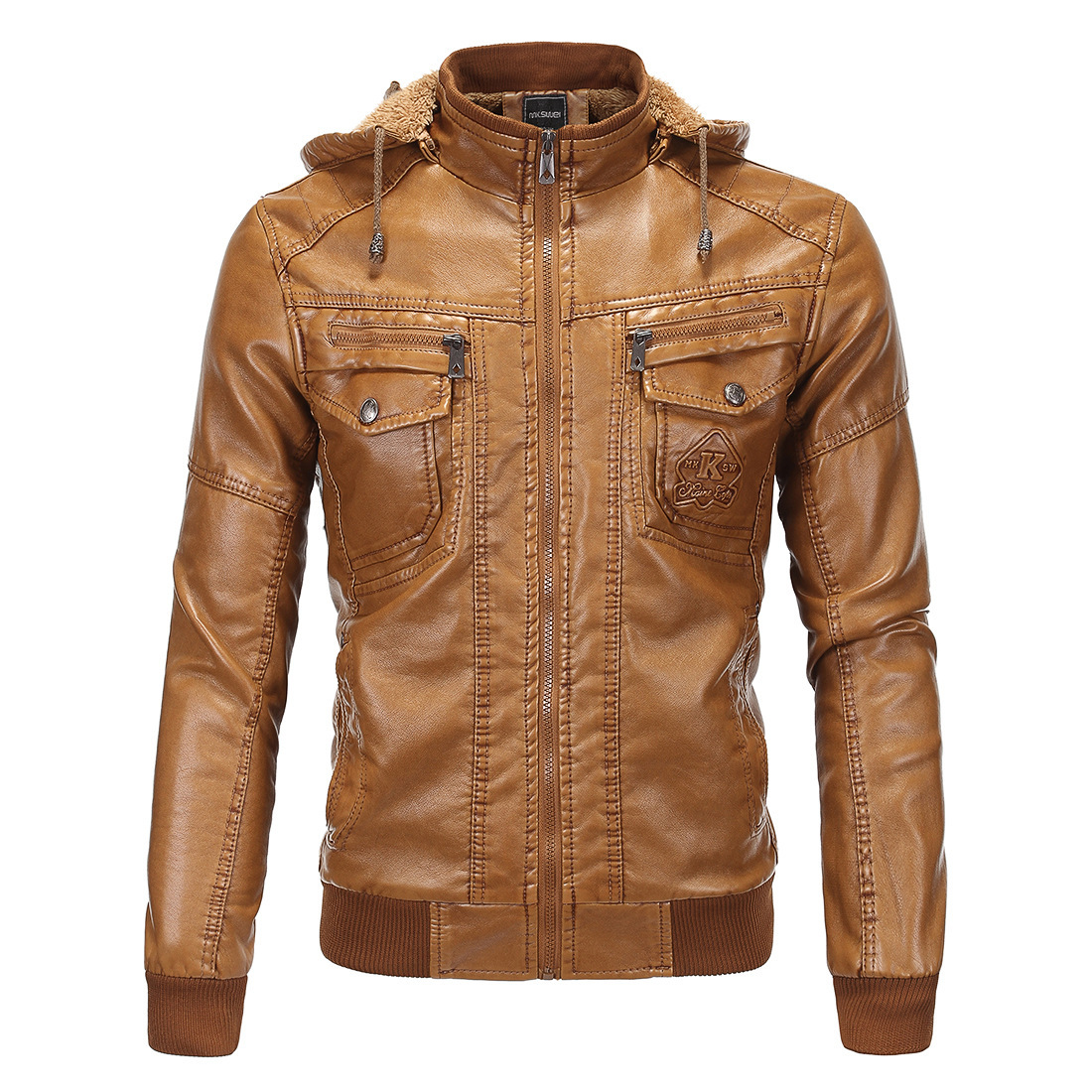 High Quality Leather Jacket Hoodie-Buy Cheap Leather Jacket Hoodie ...