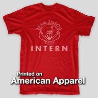 ĐỘI ZISSOU INTERN Cuộc Sống Thủy Sinh VINTAGE LOOK Murray AMERICAN APPAREL T-Shirt Loose Cotton T-Shirts Đối Với Men Cool Tops T Shirts