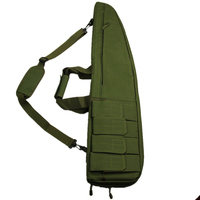 Army Green Tactical 90cm Heavy Duty Tactical Gun slip Bevel Carry Bag Hunting Bags Rifle Case Shoulder Pouch Holster