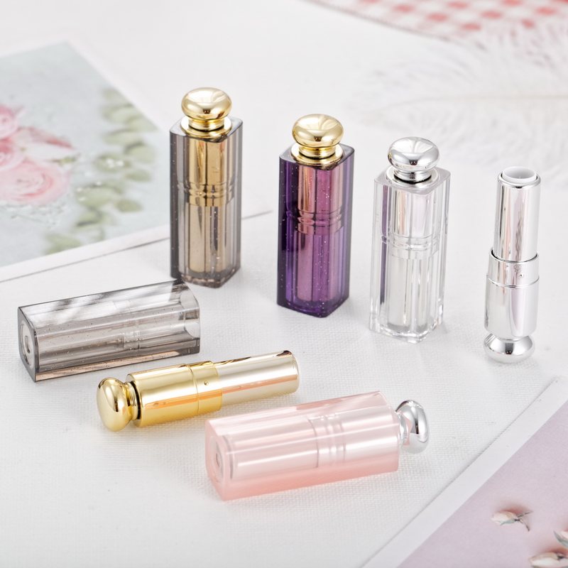 10/30/50pcs 9mm DIY Mini Lipstick Tubes Lip Balm Containers Portable Empty Cosmetic Containers Bottles Wholesales