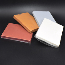 купить Professional Metal Color Oven Bake Clay Polymer Figuline Soft Clay DIY Modeling Make BJD Doll Soil Gold/Silver/Brass/Clear 125G дешево
