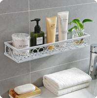 Bathroom Organizer Shelf Wrought Iron Washing Rack Wall Hanging Drain Storage Rack